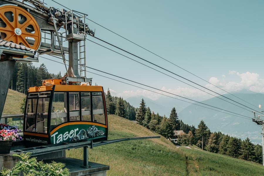 Wanderung zur Ifinger Huette in Suedtirol – Taser Bahn