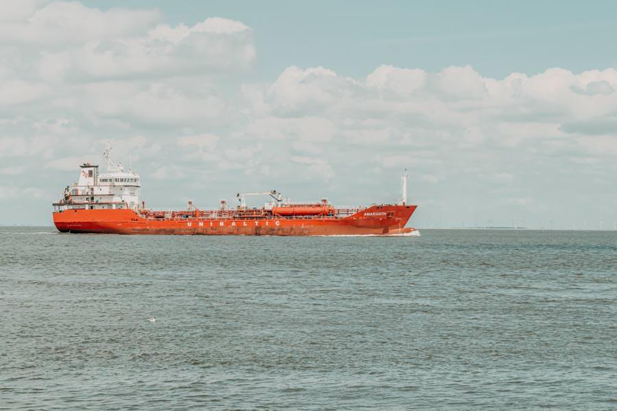 Wattwandern Cuxhaven zur Kugelbake - Kahn