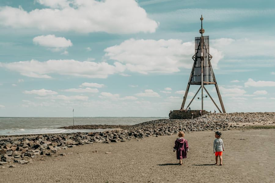 Wattwandern Cuxhaven zur Kugelbake - Kinder Kugelbake
