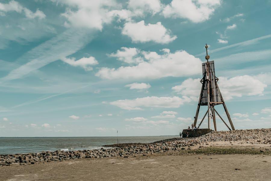 Wattwandern Cuxhaven zur Kugelbake - Kugelbake