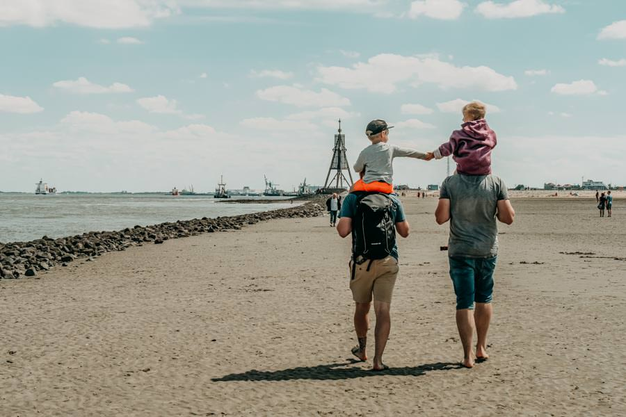 Wattwandern Cuxhaven zur Kugelbake - Wandern