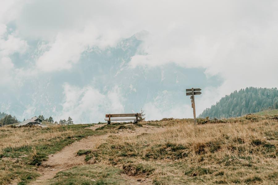 Wandern von Huette zu Huette am Hirzer in Suedtirol 10
