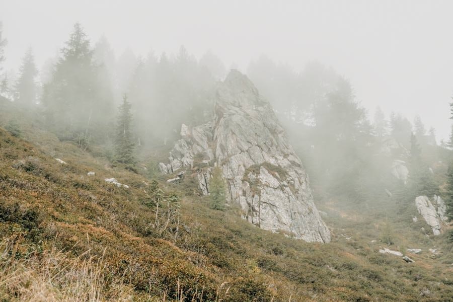Wandern von Huette zu Huette am Hirzer in Suedtirol 15